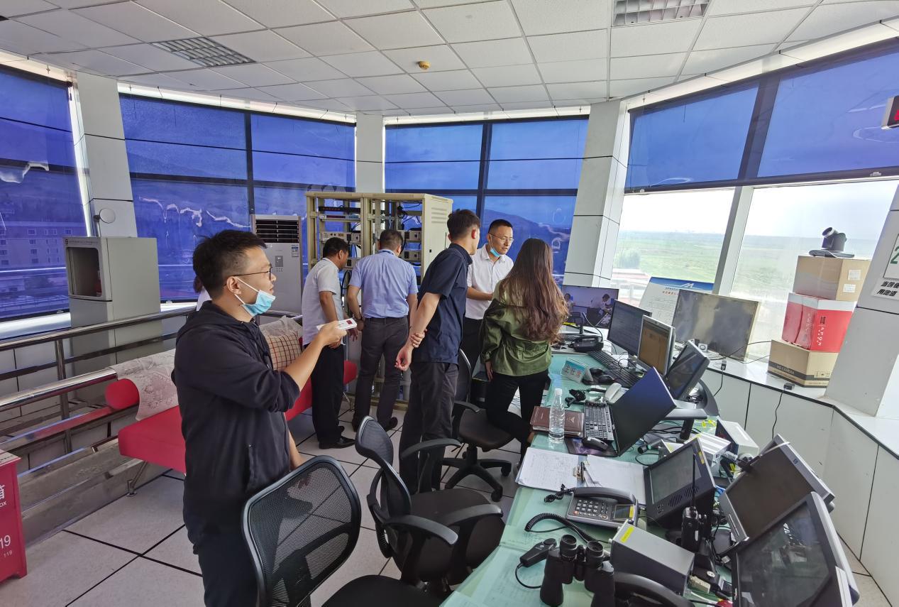 新疆机场集团公司VHF整治工程完成行业验收
