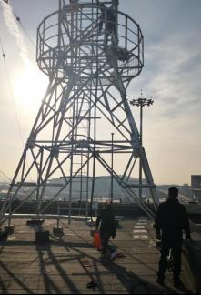 新疆空管新建全景塔台管制模拟、塔台数字化放行、通播及电子进程单系统升级改造项目施工乐动体育app无法登录