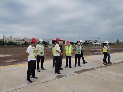 南京维修机库项目维修机坪及联络滑行道工程第一阶段建设通过竣工验收